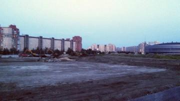 Стройплощадка на Российском проспекте
