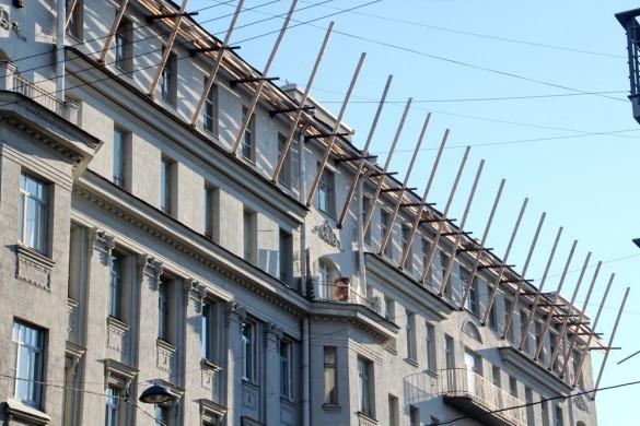 Строительство мансарды на Рылеева