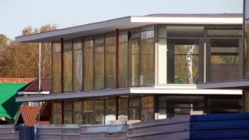 Строительство торгового центра на Лахтинском