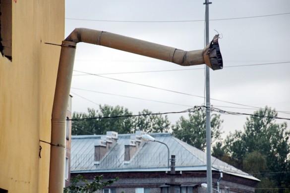 Труба на Стрельбищенской