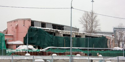 Веерное депо разрушено