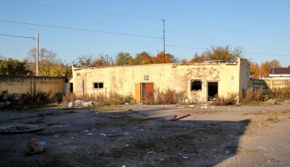 Баня войсковой части в Красном Селе