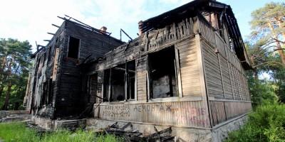 Деревянная школа на улице Мосина в Сестрорецке