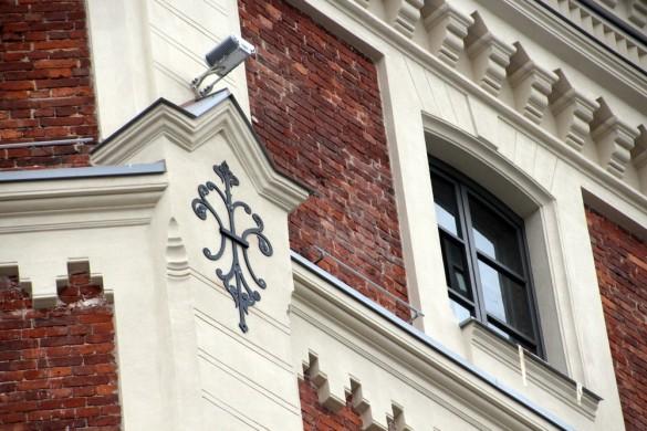 Фасад Певческой башни