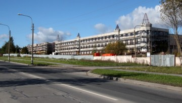 Каплист, Пушкин, реконструкция здания