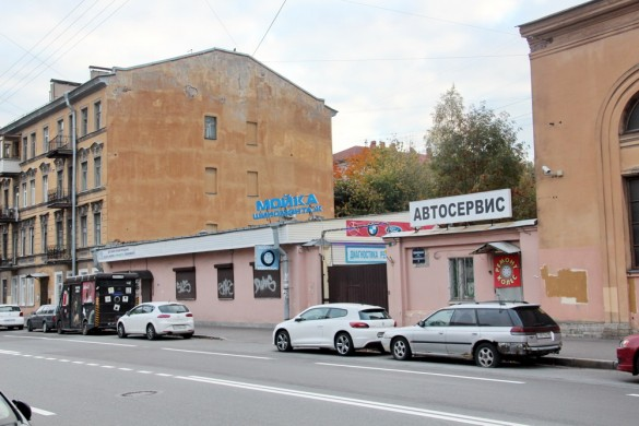 Лодейнопольская улица, 7, автосервис