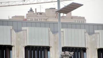 Надстройка здания на площади Победы