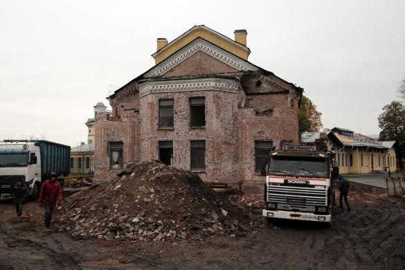 Пантелеимоновская церковь, реконструкция