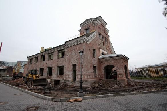 Пантелеимоновская церковь у дачи Кушелевых-Безбородко