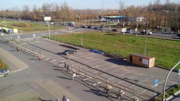 Парковка в Славянке