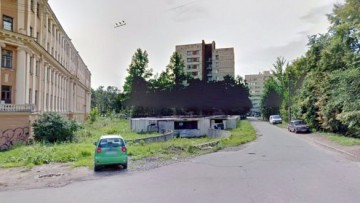 Переулок Каховского, 12, паркинг