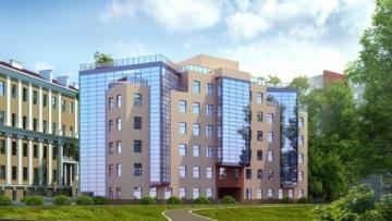 Переулок Каховского, 12, проект бизнес-центра