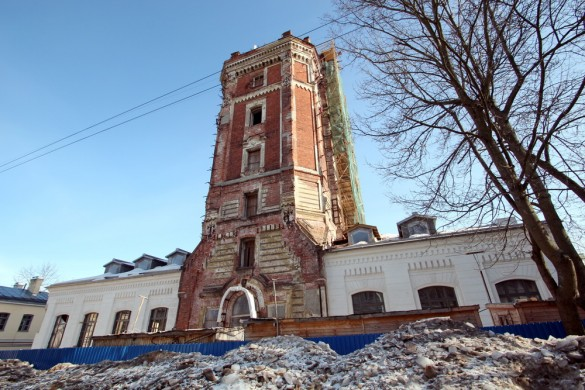 Певческая башня, реставрация