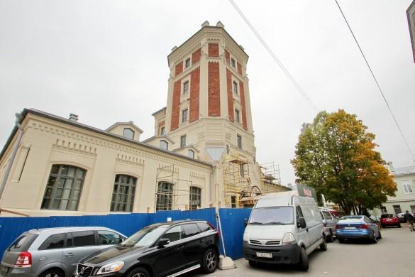 Певческая башня в Пушкине