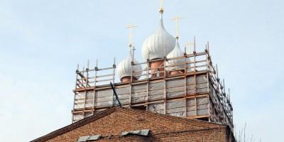 Пятиглавие церкви Серафима Саровского