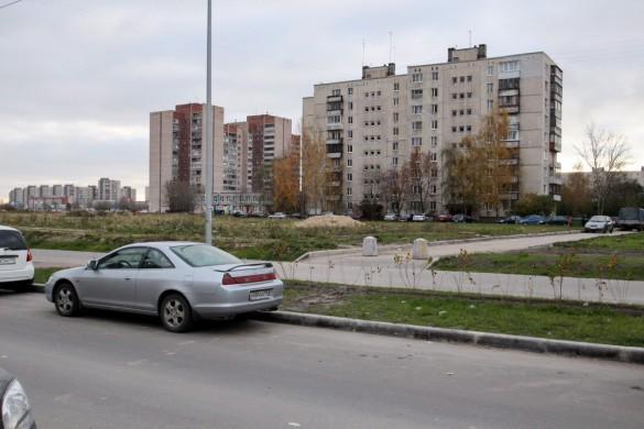 Пловдивская, место въезда