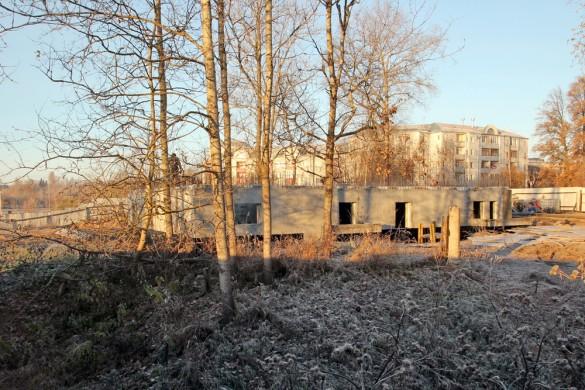 Пушкин, Павловское шоссе, 101, строительство