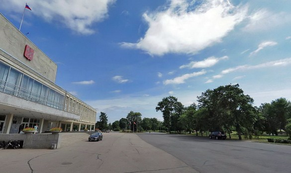 Сестрорецк, сквер Петра Великого