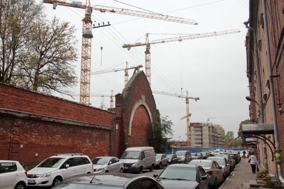 Строительство жилого дома на Заставской