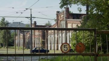 Западные полусараи Василеостровского трамвайного парка