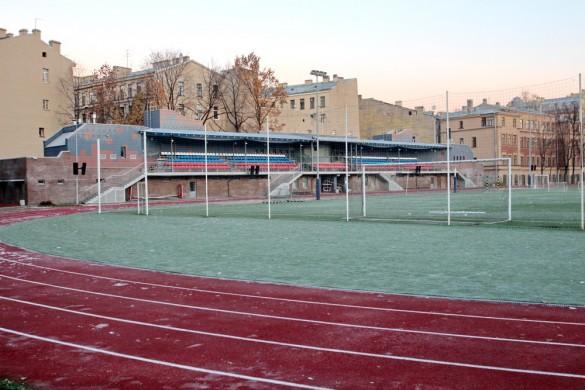 Трибуны стадиона Лесгафта