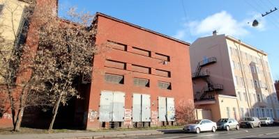 ТЭЦ Красного знамени на Пионерской улице, боковой корпус