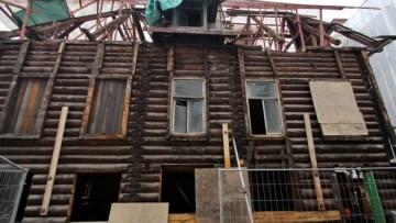 Задний фасад особняка на Пушкарской
