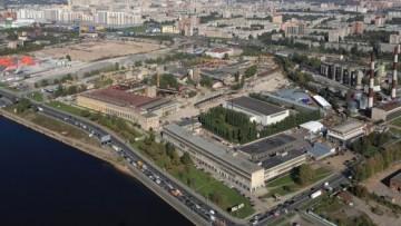 Завод «Реактив» на Октябрьской набережной