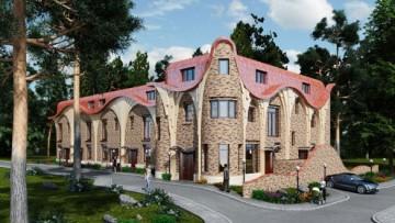 Жилой дом, Прибрежный квартал в Лисьем Носу
