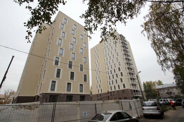 Жилые дома на 2-й Комсомольской