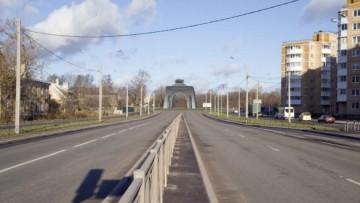 Арка Победы с Гатчинского шоссе