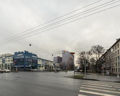 Бизнес-центр на улице Грибалевой КВС