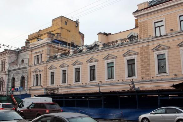 Фасад на Гагаринской, реконструкция