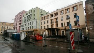Фасады по Малой Гребецкой