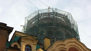 Купол церкви на Некрасова