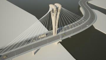 Мост через Серный остров