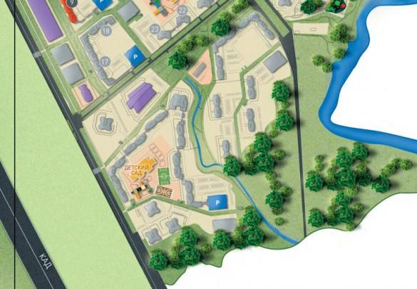 Новый квартал Новой Охты