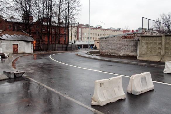 Новый участок Кирочной улицы