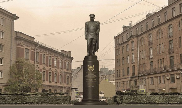 Памятник Гусейну хану Нахичиванскому