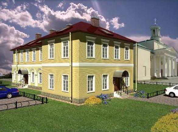 Павловск, проект воссоздания на Госпитальной