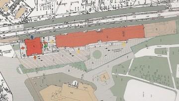 План вокзального комплекса в Сестрорецке