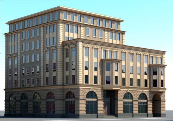 Проект бизнес-центра на Чкаловском проспекте, 33