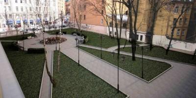 Проект ремонта сада Аквариум у Ленфильма