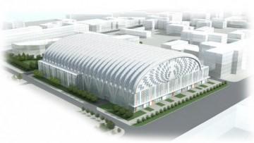 Проект спорткомплекса на проспекте Медиков № 1