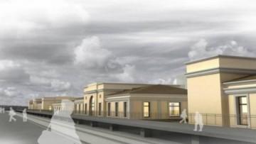 Проект вокзала у платформы Татьянино