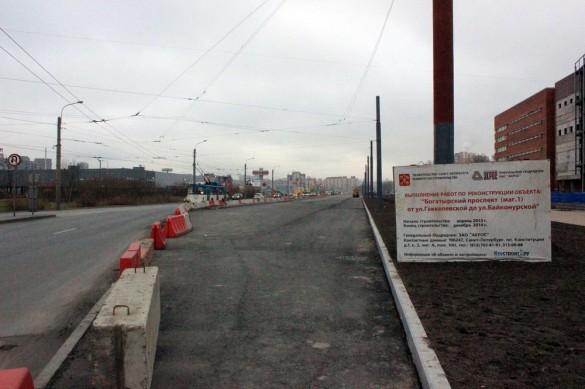Реконструкция Богатырского проспекта