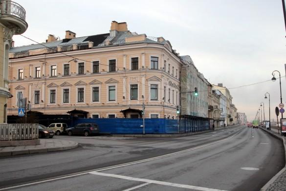 Реконструкция особняка Кушелевых-Безбородко на Кутузова