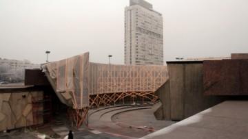 Ремонт мемориала на площади Победы
