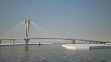 Серный остров, мост