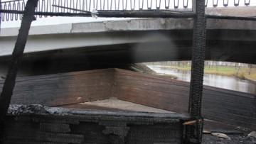 Северный мост, пожар